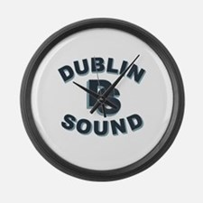 Dublin Sound Retro Large Wall Clock