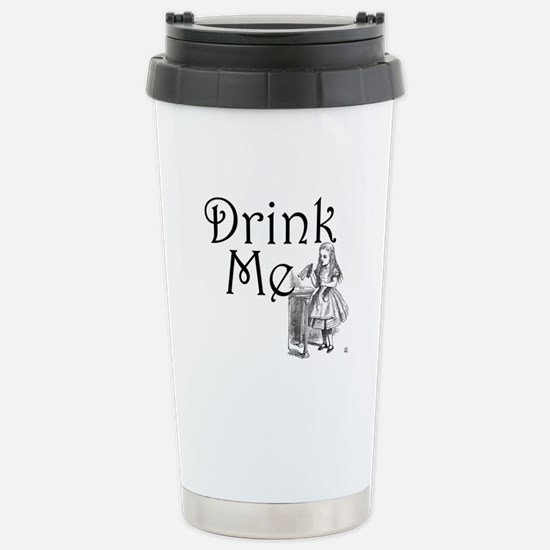 Drink Me Stainless Steel Travel Mug