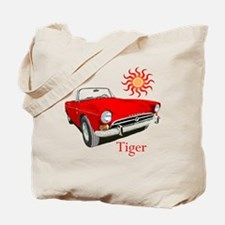 The Red Tiger Tote Bag