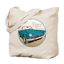 The Blue Tiger Tote Bag