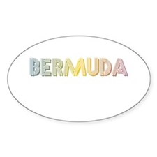 Lennon Bermuda NYC Oval Decal