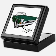 Cool Sunbeam tiger Keepsake Box