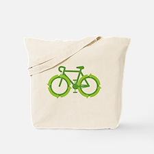 Go Green Bike Earth Tote Bag