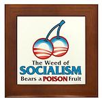 A Poison Fruit Framed Tile