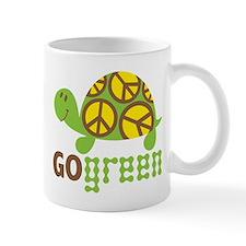 Go Green Turtle Small Mug