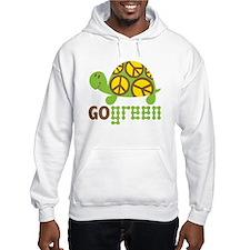 Go Green Turtle Hoodie