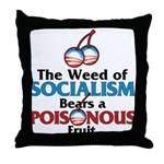 The Wead of Socialism Throw Pillow