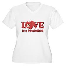 Love is a Battlefield T-Shirt