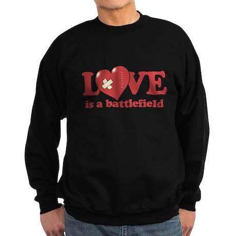 Love is a Battlefield Sweatshirt (dark)
