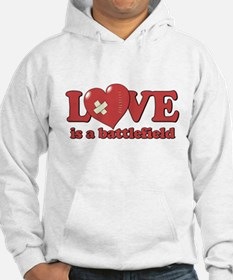 Love is a Battlefield Jumper Hoodie