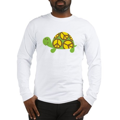 Peace Turtle Long Sleeve T-Shirt