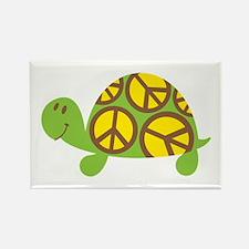 Peace Turtle Rectangle Magnet