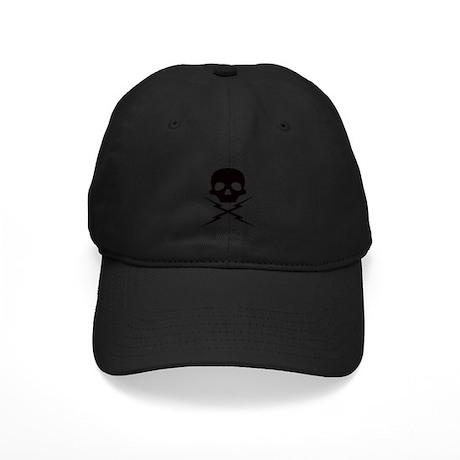 Stunman Mike's Black Lightnin Black Cap