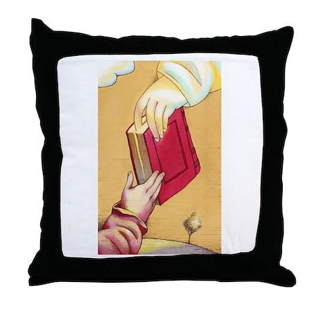 Teach the Children Throw Pillow