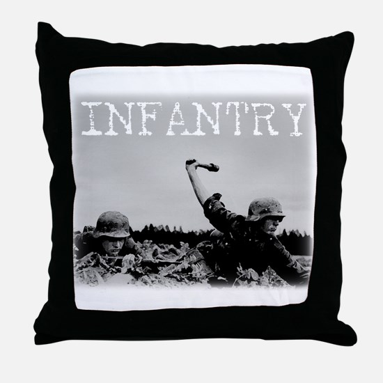 Cute Wwii german Throw Pillow