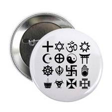 "Coexist 2.25 Inch 2.25"" Button"
