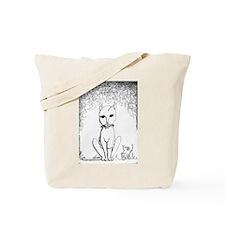 Franken-Kitty Tote Bag