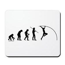 Pole Vault Evolution Mousepad