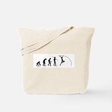 Pole Vault Evolution Tote Bag