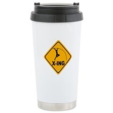 Pole Vault X-ing Travel Mug