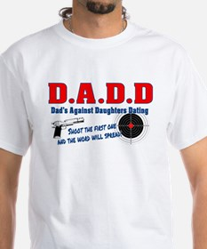 D.A.D.D  Dads Against Daughters Dating T-Shirt
