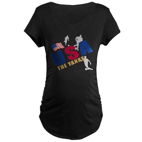 USA Maternity Dark T-Shirt