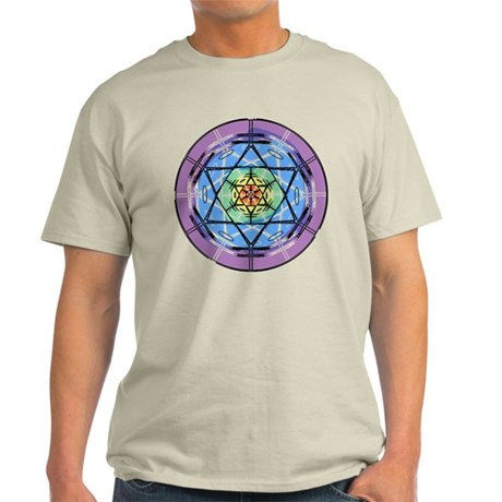 Disc Basket Circle Star Light T-Shirt