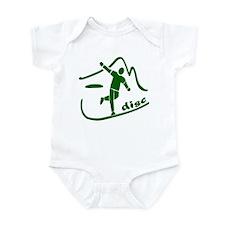 Disc Launch Green Infant Bodysuit