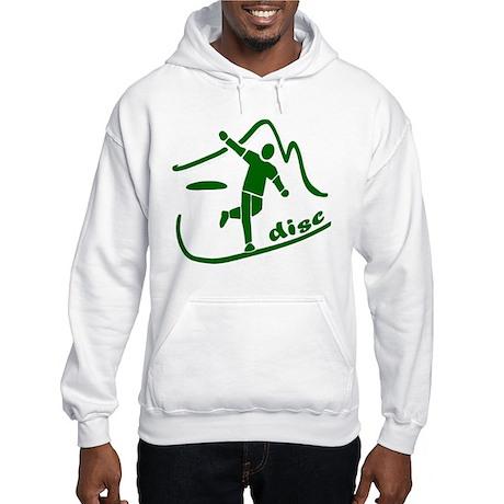 Disc Launch Green Hooded Sweatshirt