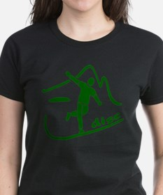 Disc Launch Green Tee