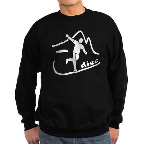 Disc Launch Black Sweatshirt (dark)