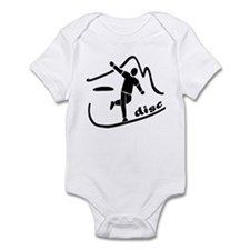 Disc Launch Black Infant Bodysuit