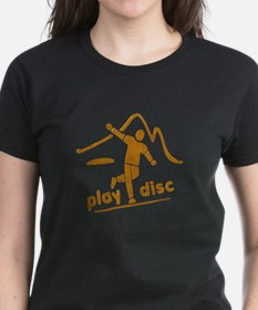 Disc Golf Launch Rust Tee