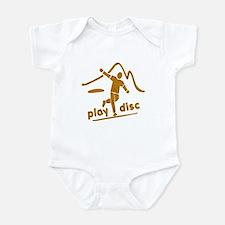 Disc Golf Launch Rust Infant Bodysuit