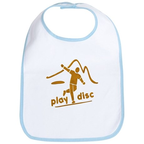 Disc Golf Launch Rust Bib