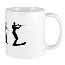 Water Ski Evolution Mug