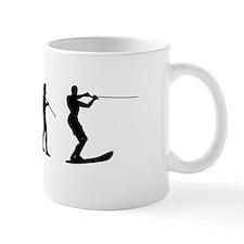 Water Ski Evolution Small Mug