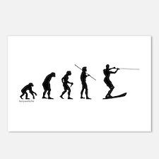 Water Ski Evolution Postcards (Package of 8)