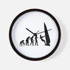 Windsurf Evolution Wall Clock