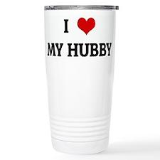 I Love MY HUBBY Travel Mug