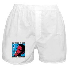 Obama Trying To Quit Boxer Shorts