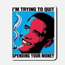 Obama Trying To Quit Mousepad