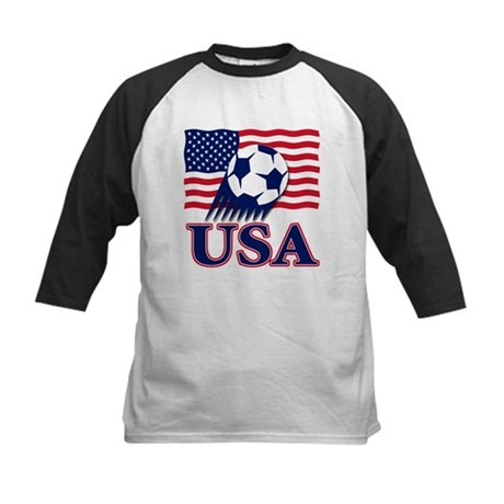 USA Soccer Kids Baseball Jersey