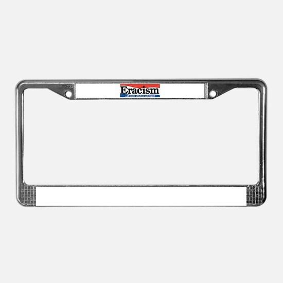 Unique Social License Plate Frame