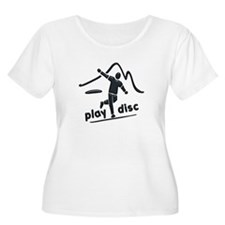 Disc Golf Launch Graphite T-Shirt