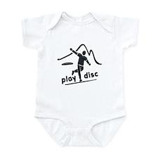 Disc Golf Launch Graphite Infant Bodysuit