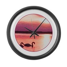 Cute Traverse city Large Wall Clock
