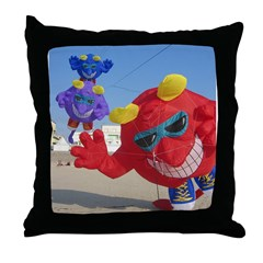 The Meanies ! Throw Pillow
