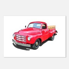 Cool Truck farming Postcards (Package of 8)