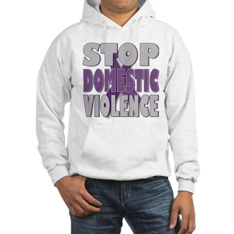 Stop Domestic Violence Hooded Sweatshirt